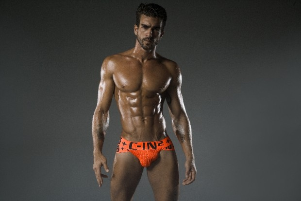 C-IN2 HARD Underwear Orange Briefs