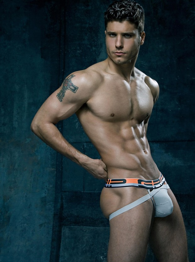 Model Cody Calafiore CIN2 Grip Jock Underwear