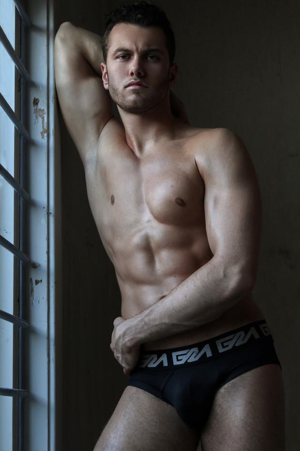 Garcon Model underwear by photographer Martijn Smouter -9
