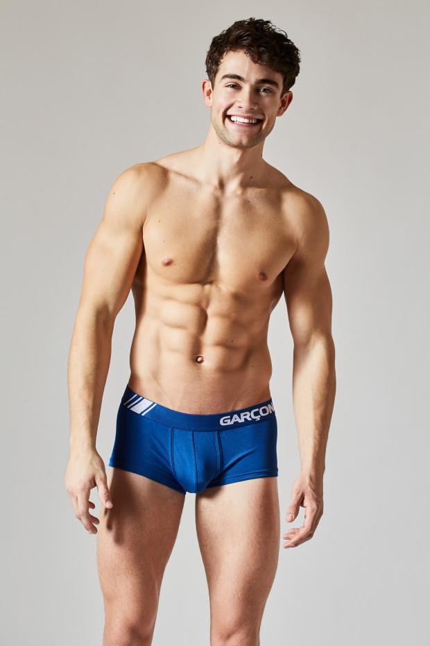 Garrett Westton Garcon Model Elite Sport Trunk Blue