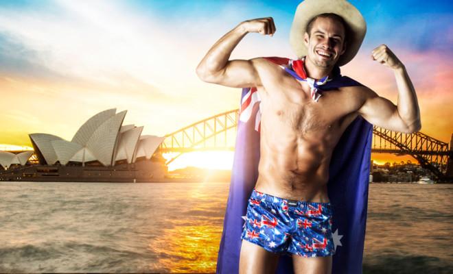 aussieBum Australia Day Boxer Short Hero Image