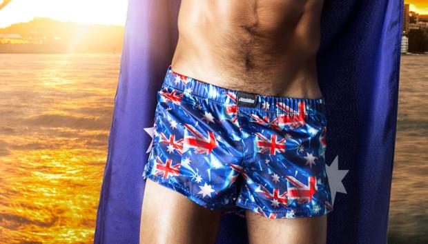 Aussie Bum Australia Day Boxer