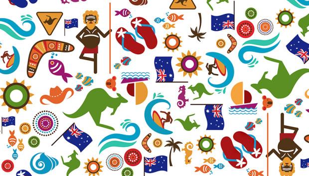 aussieBum Australia Day Pattern