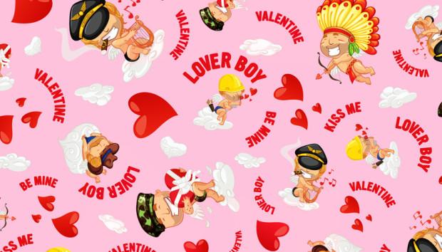 Loverboy Pink Pattern aussieBum